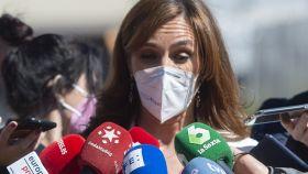 Mónica García, candidata de Más Madrid a la Presidencia de la Comunidad de Madrid.