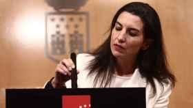 Rocío Monasterio, candidata de Vox a la Presidencia de la Comunidad de Madrid.