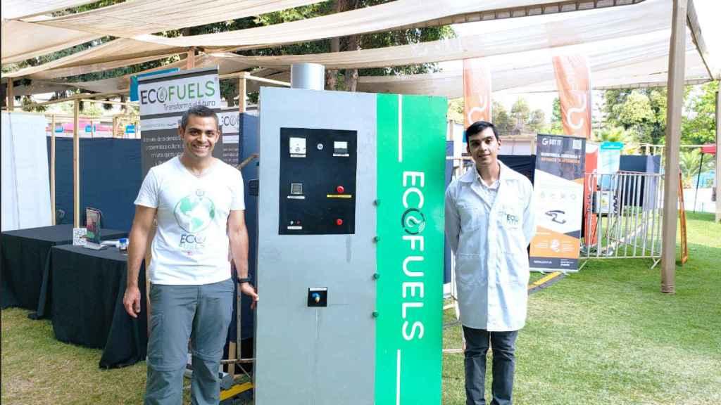 Uno de los objetivos de la chilena Ecofuels es instalar un punto de reciclaje de plástico en cada municipio.