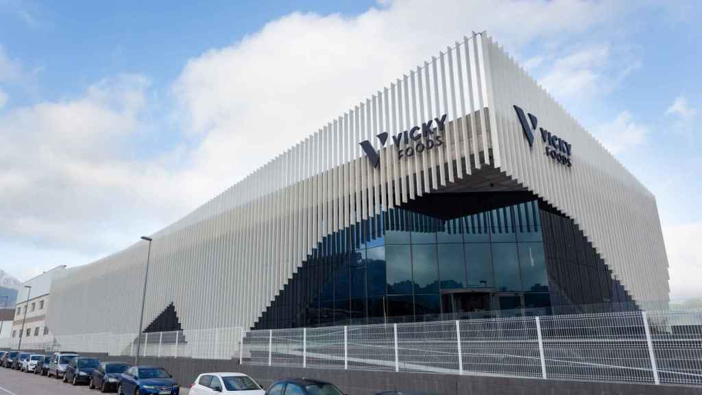 Sede de Vicky Foods en Gandía. EE