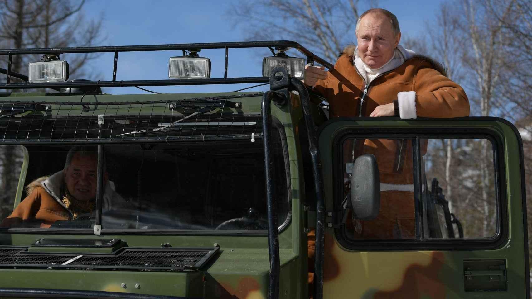 La escapada de Putin a la taiga siberiana antes de vacunarse contra la Covid: senderismo y mucha naturaleza