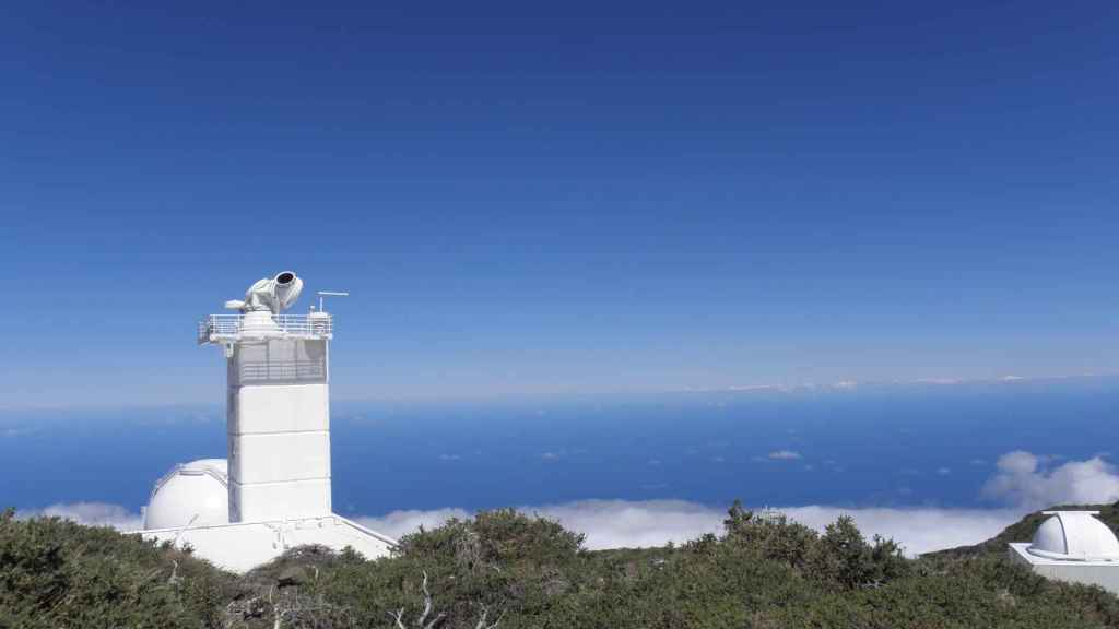 Telescopio Sueco en el observatorio de los Roques de los Muchachos, La Palma