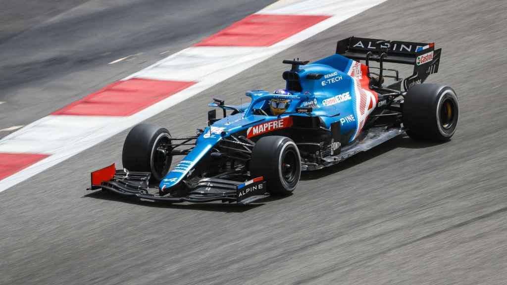 El piloto de Fórmula 1, Fernando Alonso, en la temporada 2021.