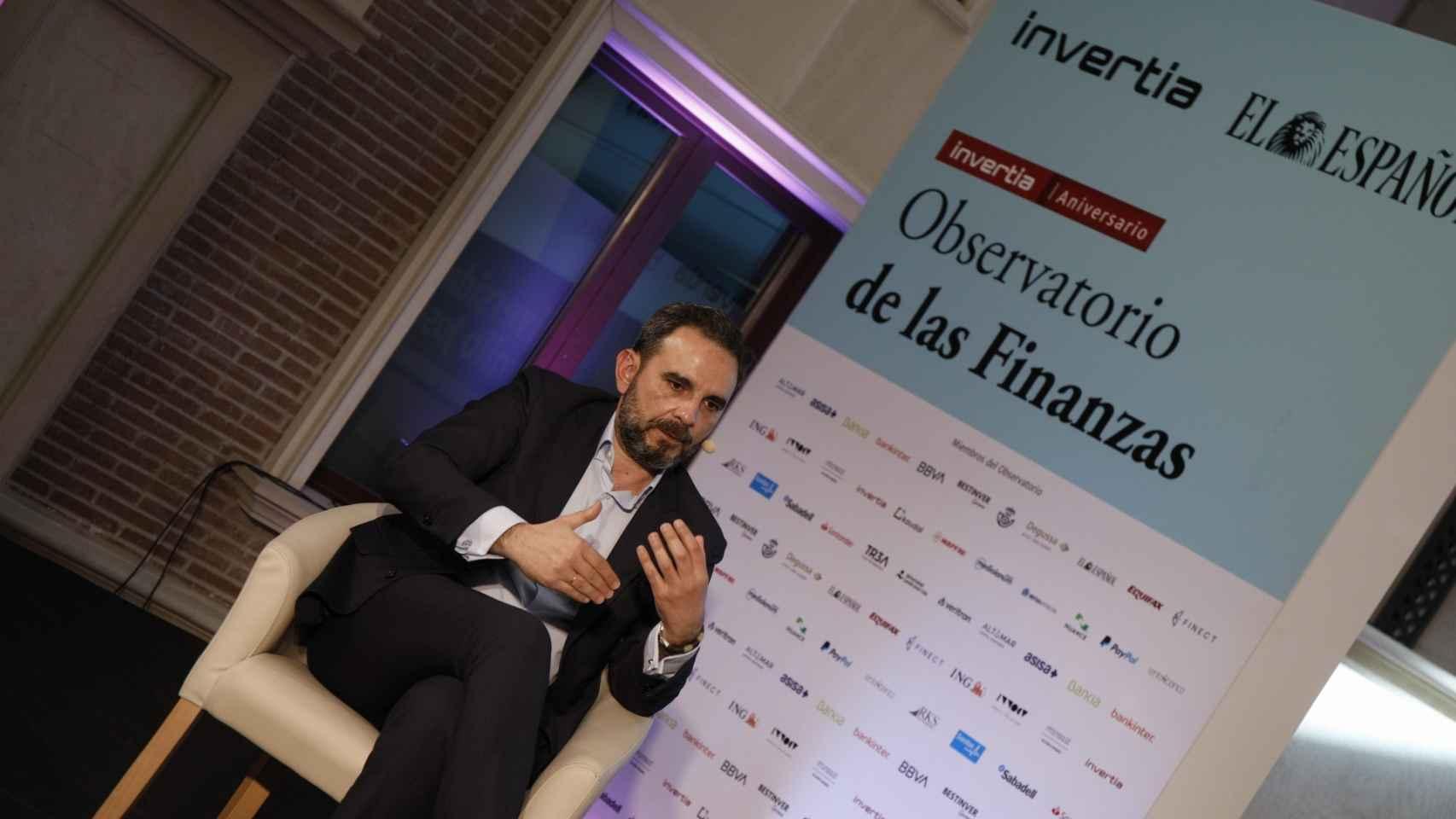 Marco Piña, director de Nuance Communications, en el Observatorio de las Finanzas de EL ESPAÑOL.