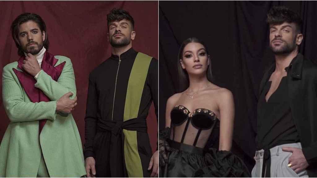 Roi y Ana Guerra aparecen en el videoclip de 'Es lo que hay'.