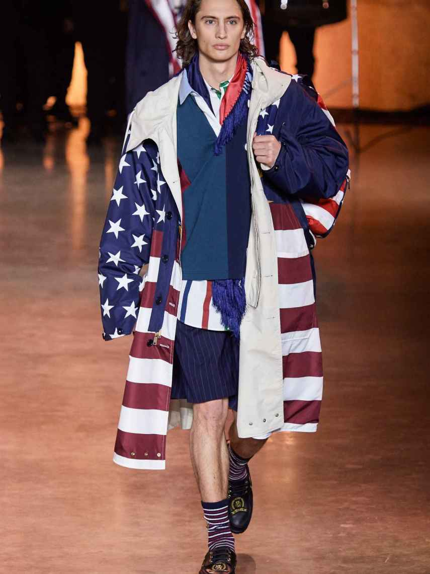 Tommy Hilfiger catwalk at London Fashion Week 2020.