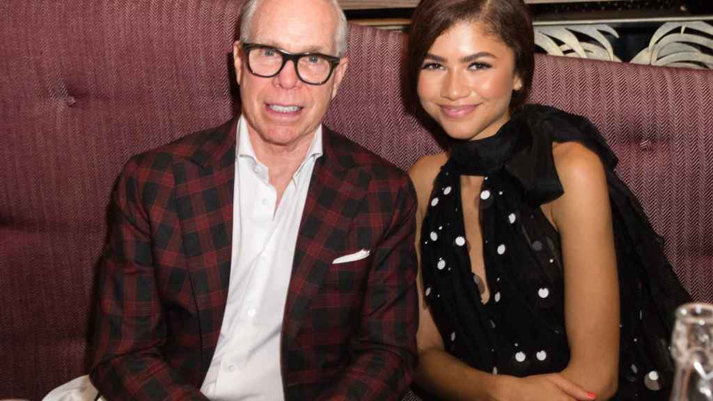 Tommy Hilfiger and Zendaya, in October 2019.