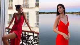 Mery Turiel deja patente que el vestido lencero es siempre tendencia.
