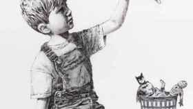 Game Changer, del artista urbano Banksy.