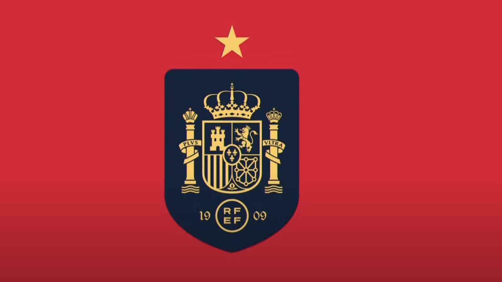 Nuevo escudo de la RFEF y la Selección