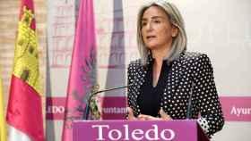 Milagros Tolón, alcaldesa de Toledo, en una imagen de archivo