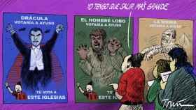 La campaña del miedo de Podemos contra Ayuso: Madrid no es segura para los gays y las mujeres