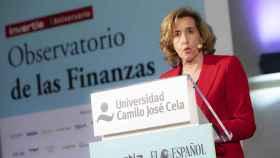 La secretaria de Estado de Economía, Ana de la Cueva.