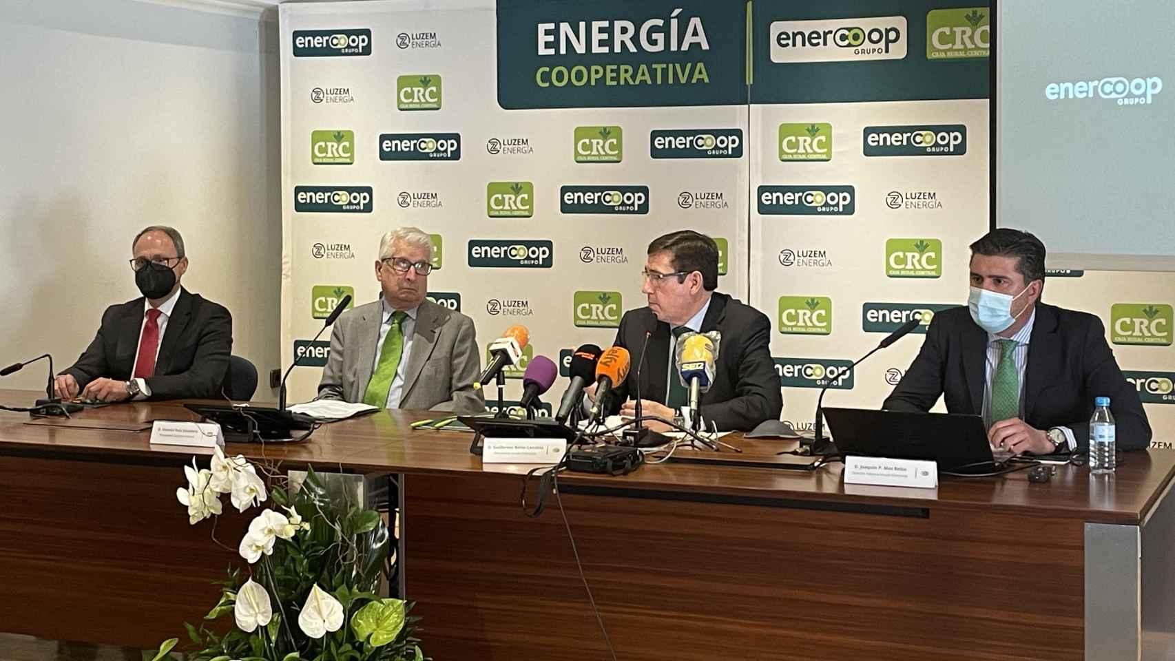 Nace Luzem Energía, comercializadora y generadora renovable de Enercoop y Caja Rural