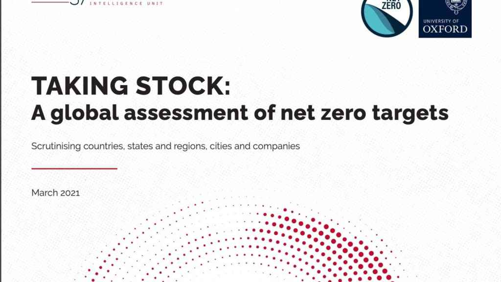 El 21% de las empresas más grandes del mundo quieren ser emisiones netas cero