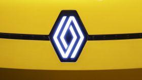 Nuevo logo de Renault que estrenará en los próximos modelos.
