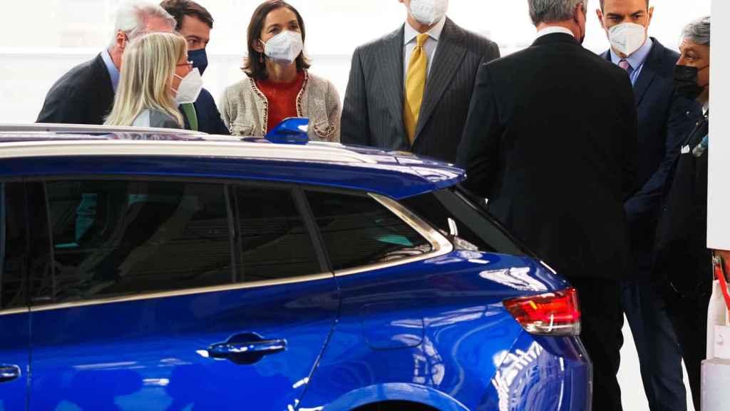 Felipe VI preside la presentación del Plan Estratégico de Renault.