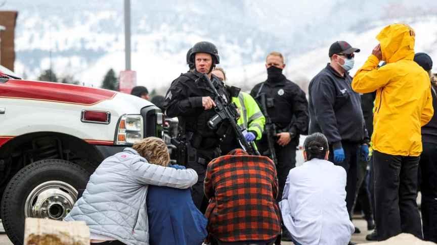 Supervivientes del tiroteo de Colorado, EEUU.
