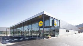Un supermercado Lidl.