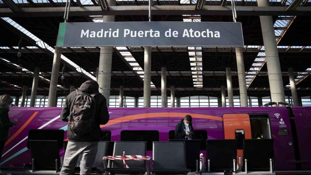 Estación de AVE Atocha. Carmen Suárez.