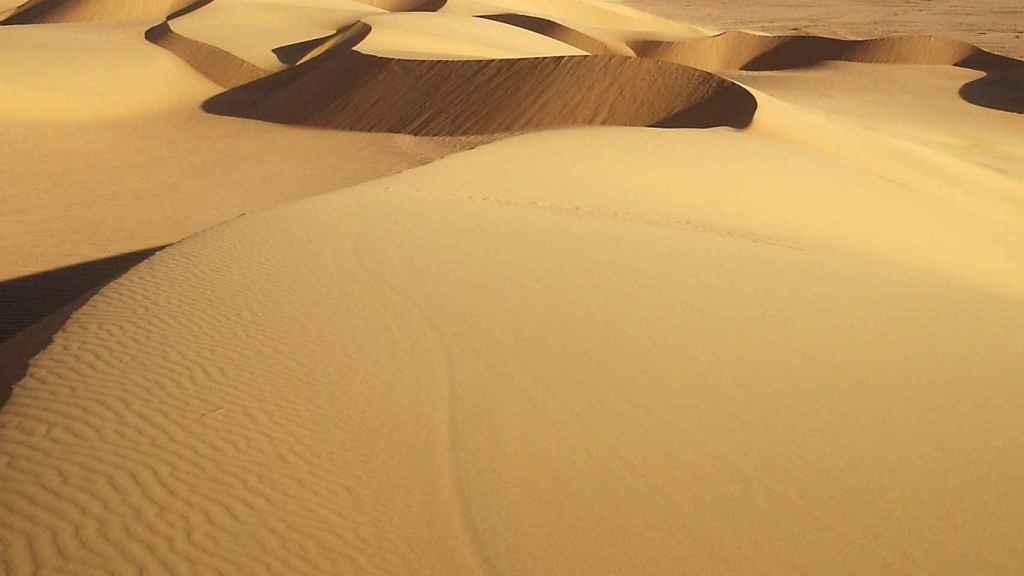 Dunas del Sáhara.