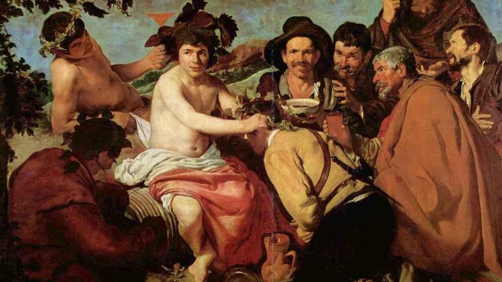 'El triunfo de Baco', Velázquez.