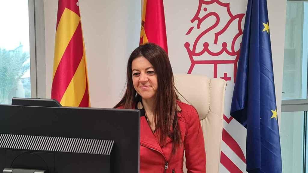Carolina Pascual (PSPV-PSOE), 'consellera' de Innovación y Universidades. EE