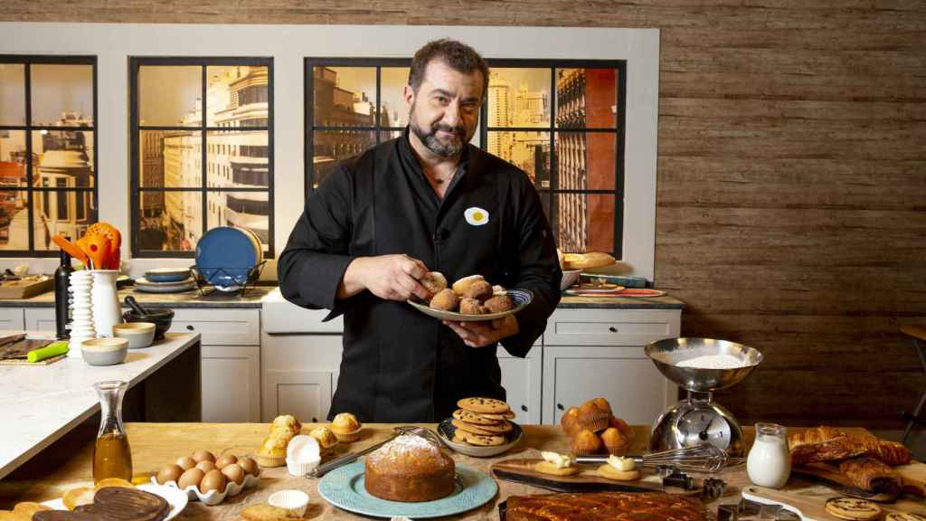 El chef Sergio Fernández