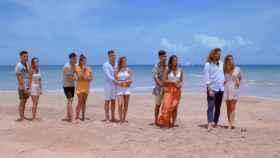 Las cinco parejas de 'La isla de las tentaciones 3'.