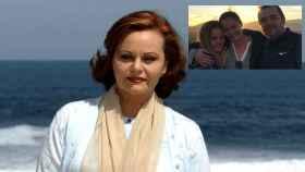 La desaparecida Rocío Dúrcal en montaje de JALEOS junto a sus tres hijos, Carmen, Shaila y Antonio.