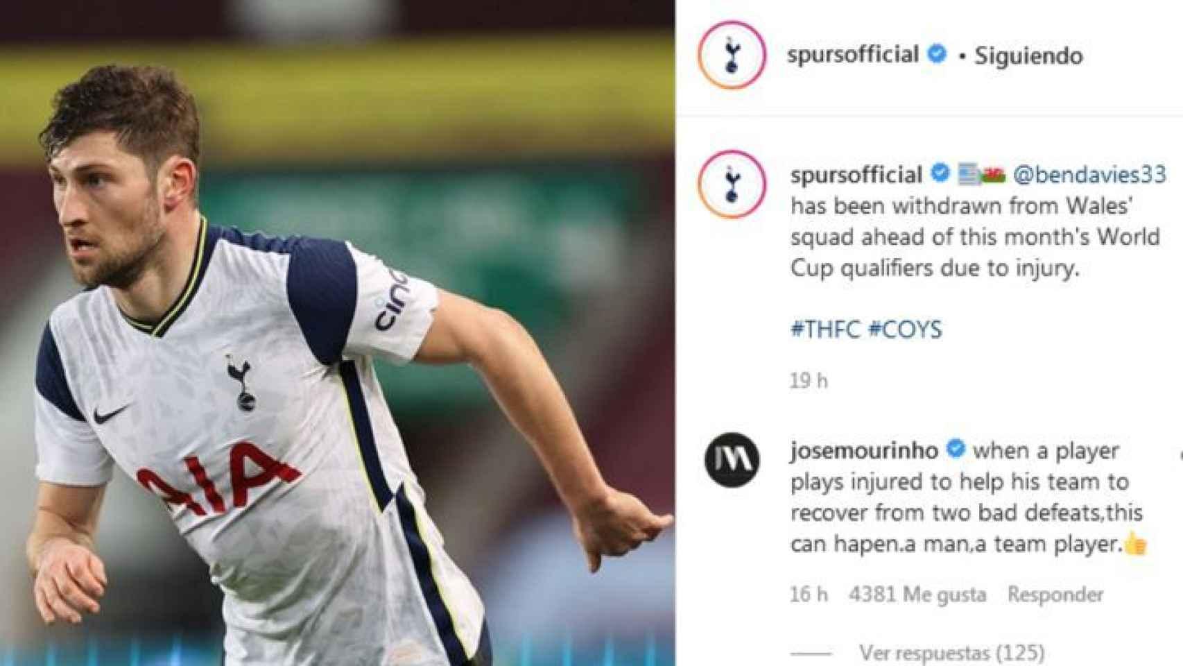 El comentario de Mourinho