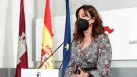 Blanca Fernández, portavoz del Ejecutivo castellano-manchego. Foto: Óscar Huertas