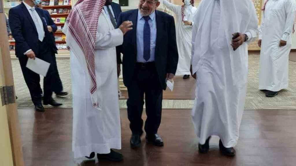 Ayman Adlbi, en un acto reciente.