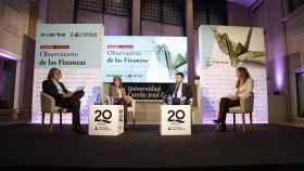 Mesa redonda 'Futuro de los seguros en España: la digitalización' en el Observatorio de las Finanzas organizado por EL ESPAÑOL e Invertia.