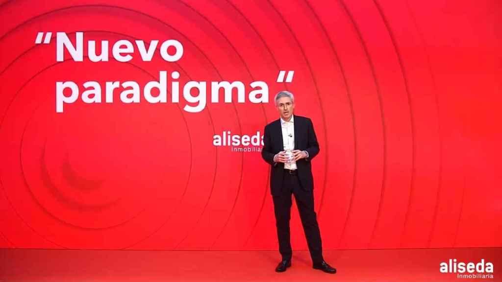 El consejero delegado de Aliseda, Eduard Mendiluce.