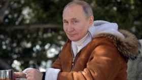 Vladimir Putin en sus vacaciones en Siberia.