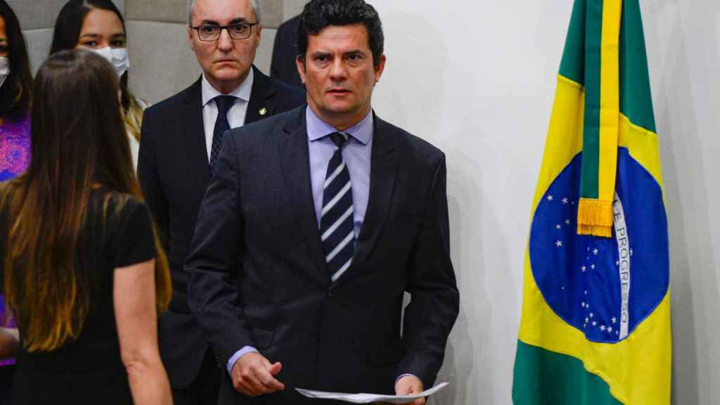 El exjuez Sergio Moro.