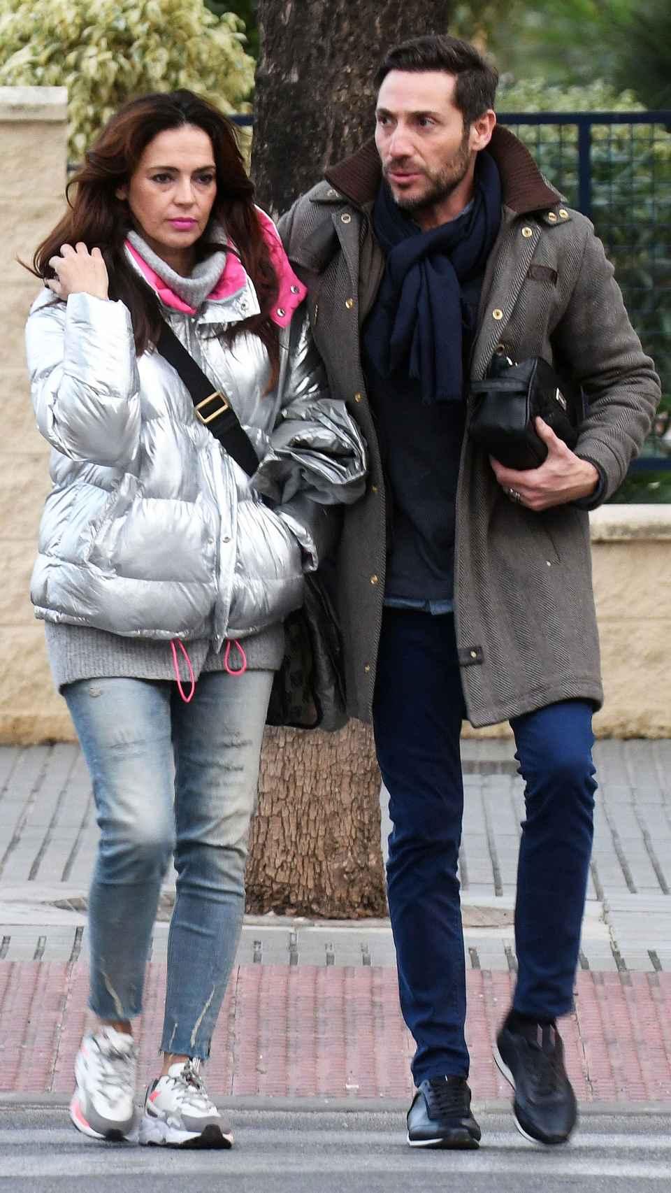 Olga Moreno y su marido Antonio David Flores.