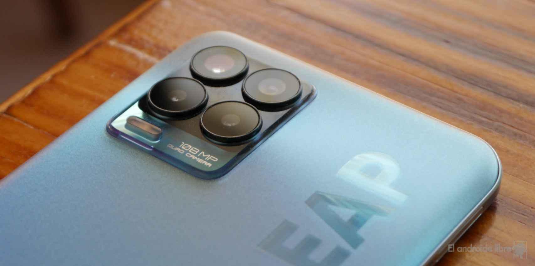 Módulo de cámaras del realme 8 Pro