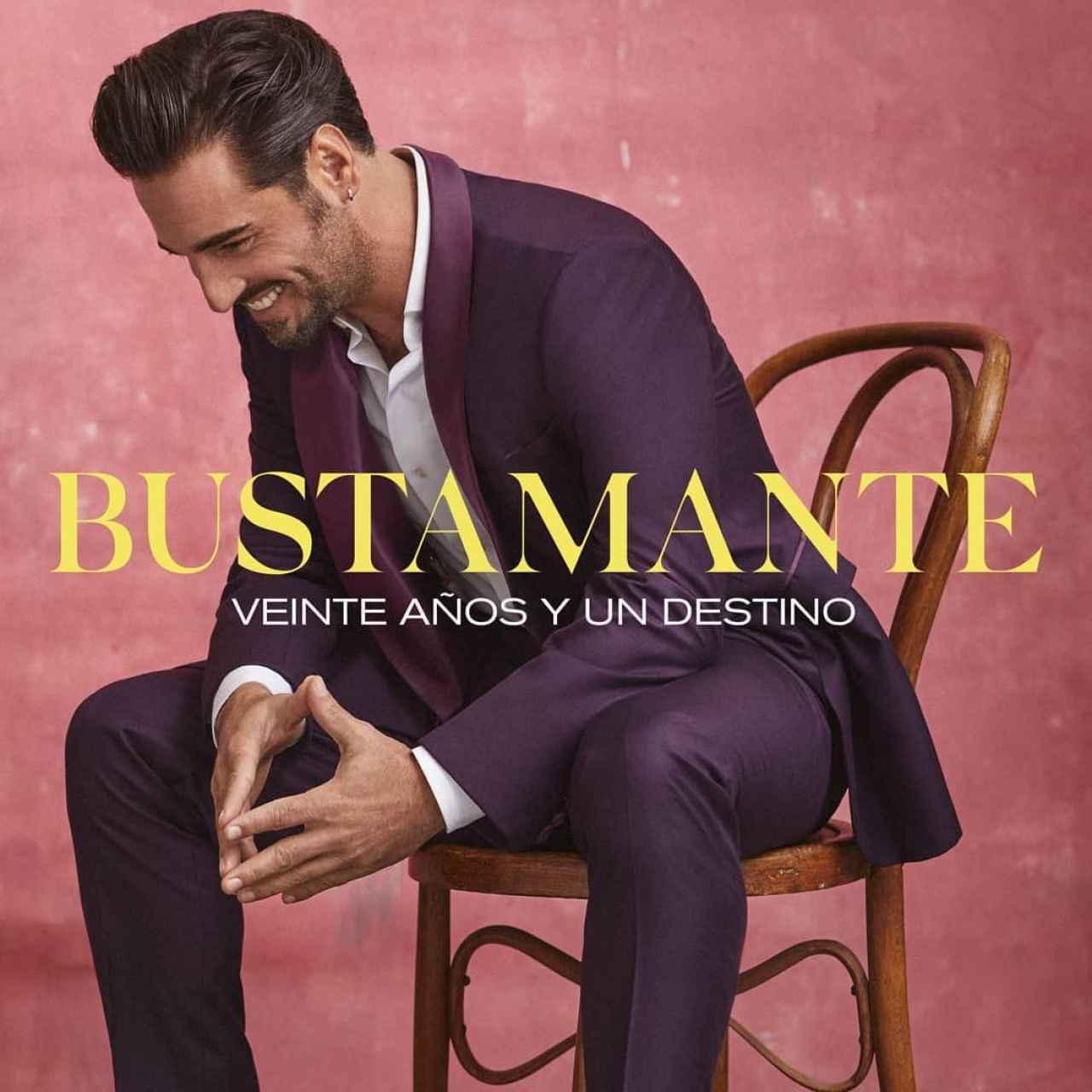Portada del disco que presenta David Bustamante con motivo de sus 20 años en la música.