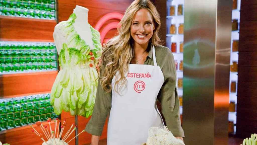 Quién es Estefanía Luyk, la invitada de 'Pasapalabra' que estuvo en 'MasterChef Celebrity'