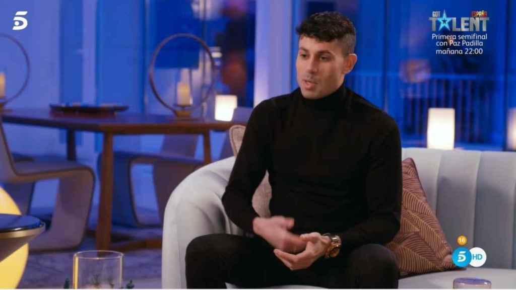Diego desahogándose con Sandra.