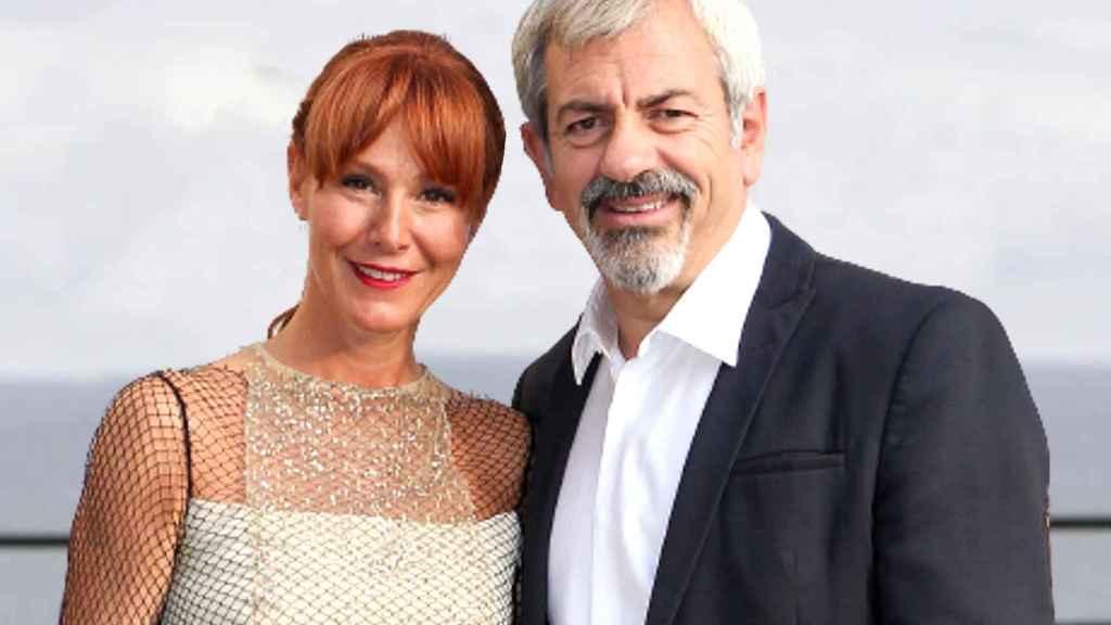 Patricia Santamarina y Carlos Sobera son una de las parejas más consolidadas de la televisión.