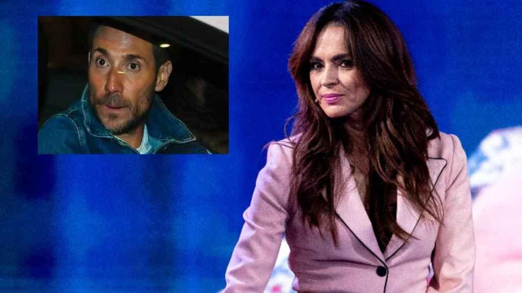 Olga Moreno en montaje de JALEOS junto a su marido Antonio David Flores.