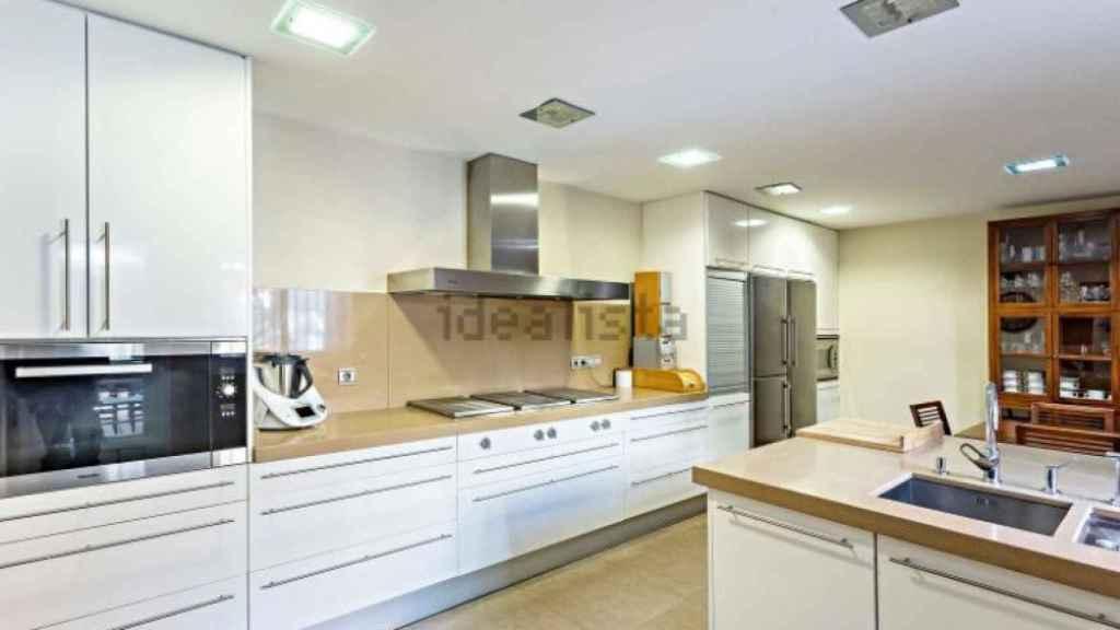 La cocina de la casa familiar de Ana Soria.