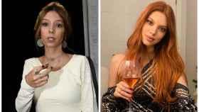 A la izquierda, Alejandra en 2017, y a la derecha, en una fotografía actual.