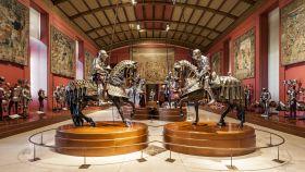La Real Armería del Palacio Real de Madrid.