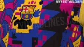 La polémica camiseta del Barcelona