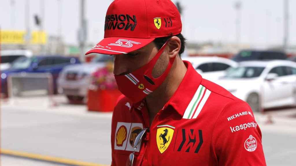 Carlos Sainz en Bahrein
