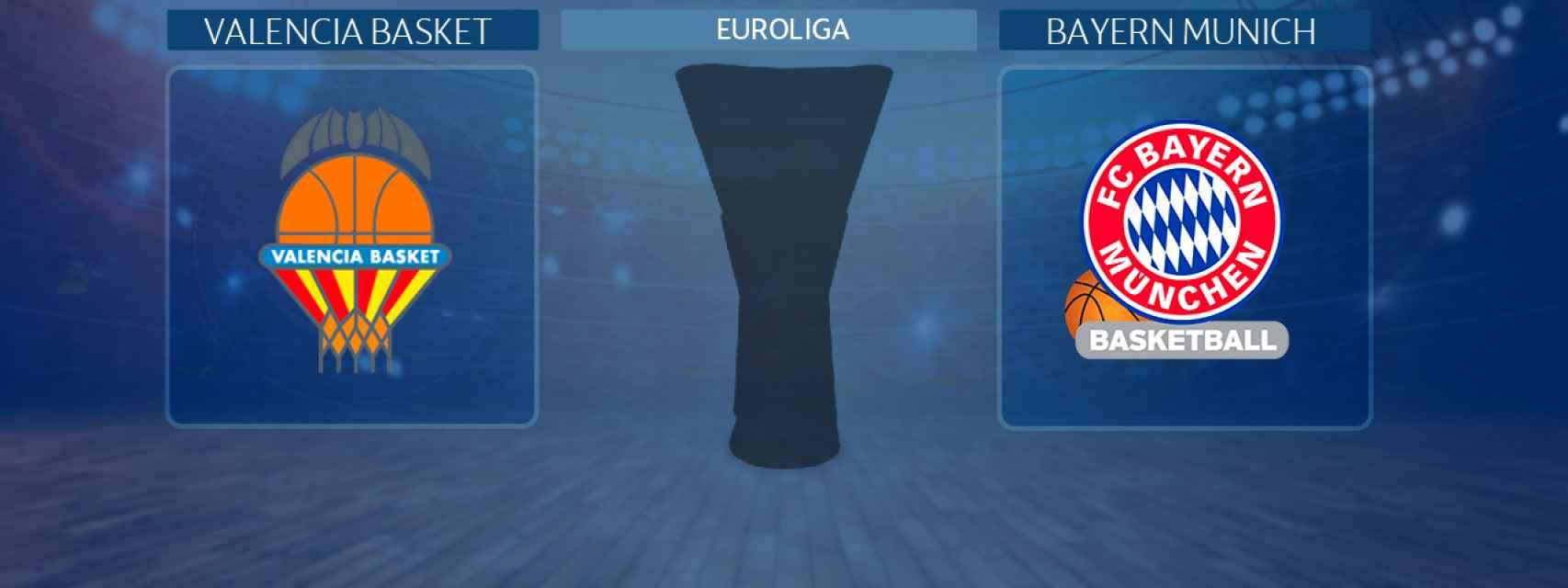 Valencia Basket - Bayern Munich, partido de la Euroliga